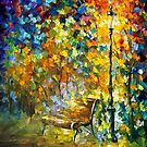 Green Vibrations — Buy Now Link - www.etsy.com/listing/209925068 by Leonid  Afremov