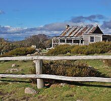 Craig's Hut - Blue Skies by Jess Fleming