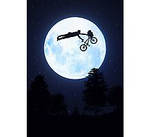 Riding the Kuwahara BMX. Like A Boss! Photographic Print
