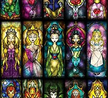 disney princesses by oliviaxx33