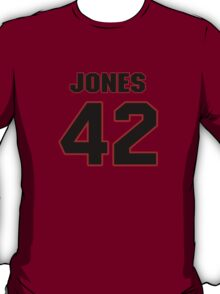 NFL Player Colin Jones fortytwo 42 T-Shirt