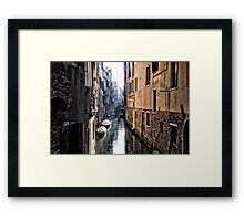 Secret Venice Framed Print