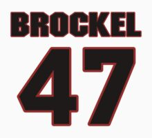 NFL Player Richie Brockel fortyseven 47 T-Shirt