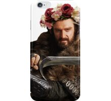 Flower Crown Thorin iPhone Case/Skin