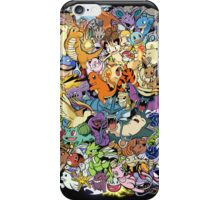 Gen I - Pokemaniacal Colour iPhone Case/Skin