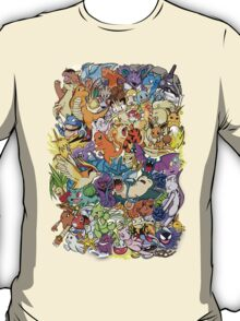 Gen I - Pokemaniacal Colour T-Shirt