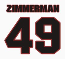 NFL Player Ty Zimmerman fortynine 49 by imsport
