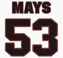 NFL Player Joe Mays fiftythree 53 by imsport