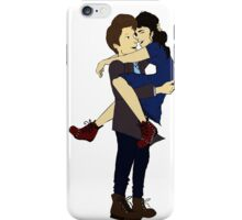 Clara and The Doctor  iPhone Case/Skin