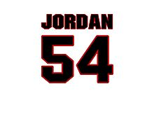 NFL Player Akeem Jordan fiftyfour 54 Photographic Print