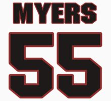 NFL Player Chris Myers fiftyfive 55 by imsport