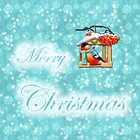 merry christmas robin design by studenna