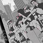 Zombie Apocalypse Guitar Jam by Ainsley Knott
