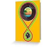 Reggae Forever. Greeting Card