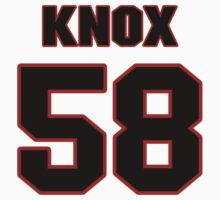 NFL Player Kyle Knox fiftyeight 58 by imsport