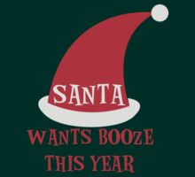 SANTA wants booze this year by jazzydevil