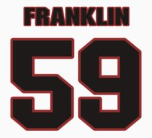 NFL Player Jerry Franklin fiftynine 59 by imsport
