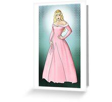 Princess Aurora - Sleeping Beauty Greeting Card