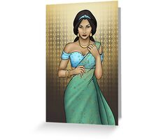 Princess Jasmine Greeting Card