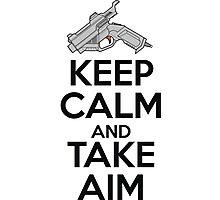 Dreamcast Keep Calm and Take Aim Photographic Print