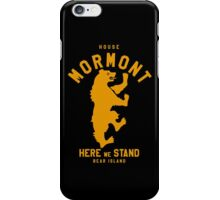 HOUSE MORMONT 1 iPhone Case/Skin