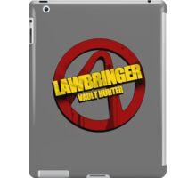 Lawbringer iPad Case/Skin