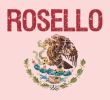 Rosello Surname Mexican Kids Clothes