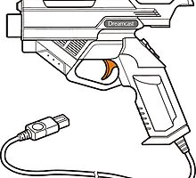 Dreamcast Light Gun by Sascha Grant