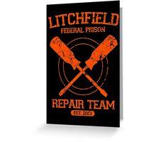 Litchfield Repair Team Greeting Card