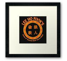 Lee Ho Fook's Framed Print