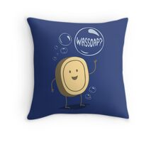 Wassoap? Throw Pillow