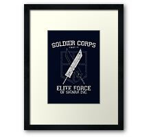 Soldier Corps Framed Print