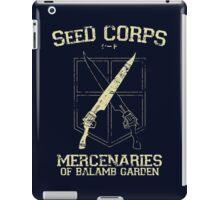SeeD Corps iPad Case/Skin