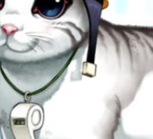 rescue cat  Sticker
