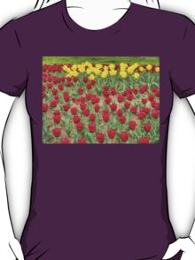 Lots of Red Tulips 2 T-Shirt