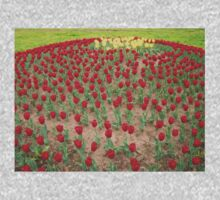 Lots of Red Tulips 4 Kids Clothes