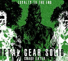 Metal Gear Solid 3 - Snake Eater - Big Boss - Eva - Boss by RellikJoin