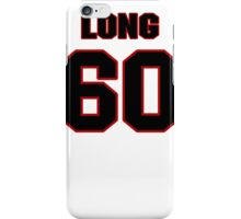 NFL Player Spencer Long sixty 60 iPhone Case/Skin