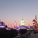 Discoveryland at Night by Margybear