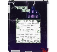 Phantom Manor- Fastpass iPad Case/Skin