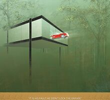 """""""You killed the car"""" - Ferris Poster by Daniel Fitzpatrick"""
