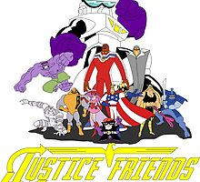 JUSTICE FRIENDS by popcultchart
