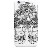 Gemini for colour backgrounds iPhone Case/Skin