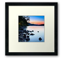 THE RHINE 09 Framed Print
