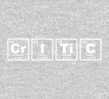 Critic - Periodic Table Kids Clothes