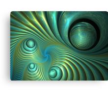 Bubble spiral Canvas Print