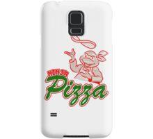 tmnt - pizza box - ninja turtle - tortue ninja  - old school - vintage Samsung Galaxy Case/Skin