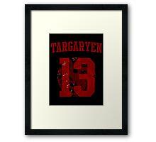 House Targaryen Jersey Framed Print