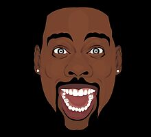 Chris Rock  by Tloweart