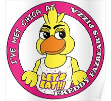 Five Nights at Freddy's - I've Met Chica Poster